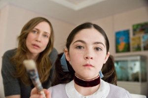 "Vera Farmiga and Isabelle Fuhrmann are an unhappy family in ""Orphan."""