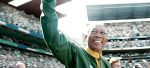 "Morgan Freeman as Nelson Mandela in our Top 10 pick, ""Invictus."""
