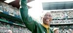 "Morgan Freeman as Nelson Mandela in our Top 10 pick, ""Invictus."""