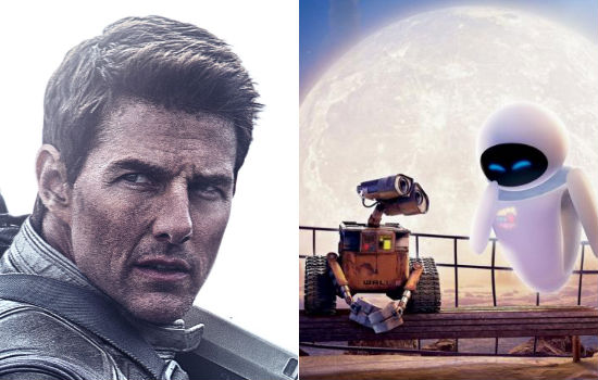 "Are ""Oblivion"" and ""Wall*E"" the same movie? Click here to find out!"